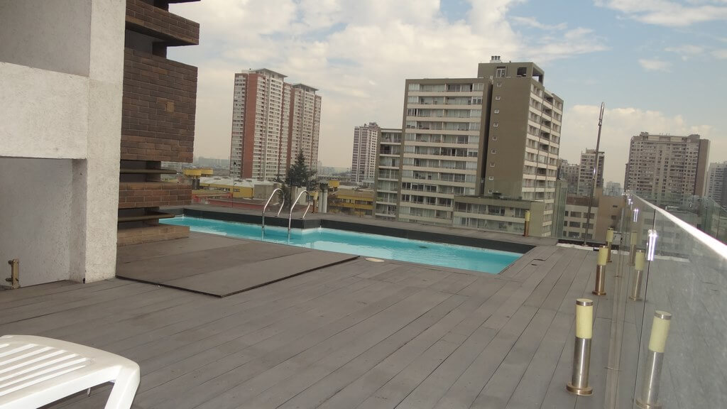 Departamento Ñuñoa 425, piscina
