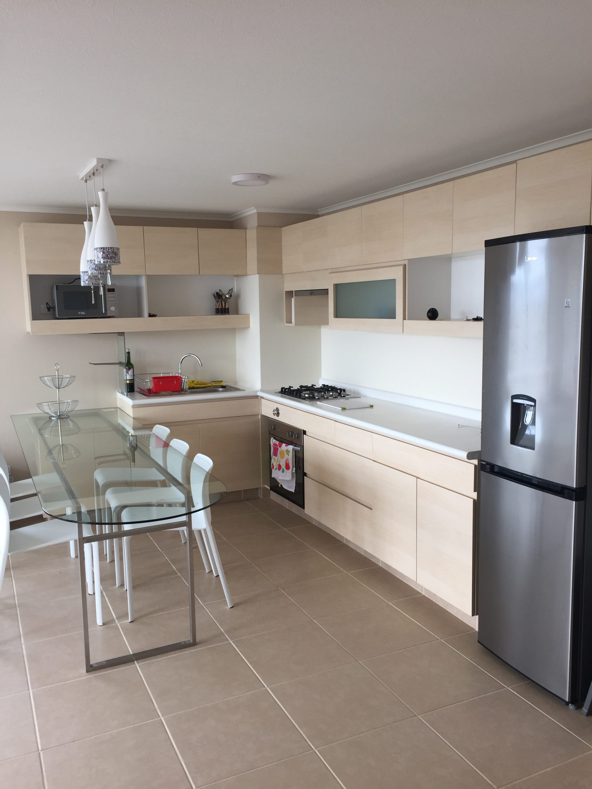 Departamento en venta Algarrobo cocina-comedor 2