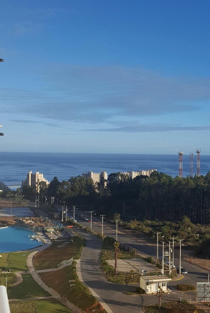 Departamento en venta Algarrobo- vista al mar de terraza